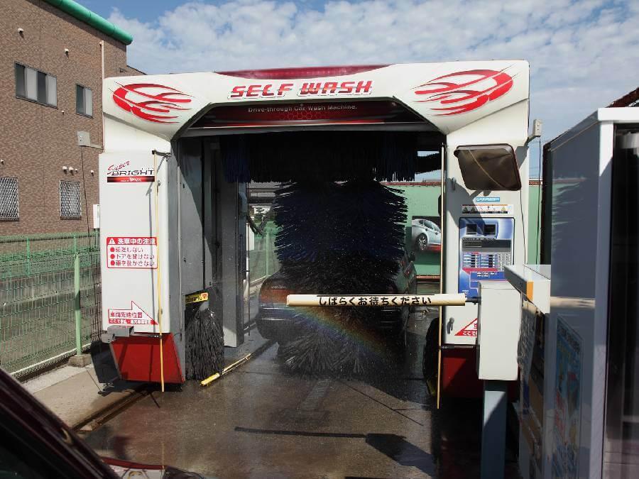 洗車 屋根 場 付き