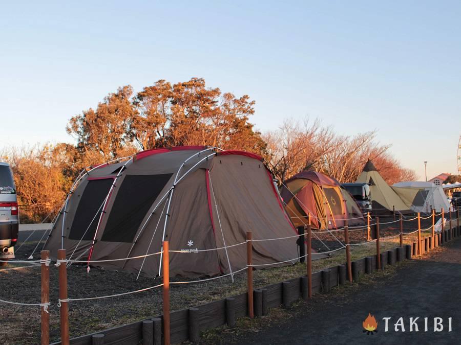 丘 キャンプ の ソレイユ