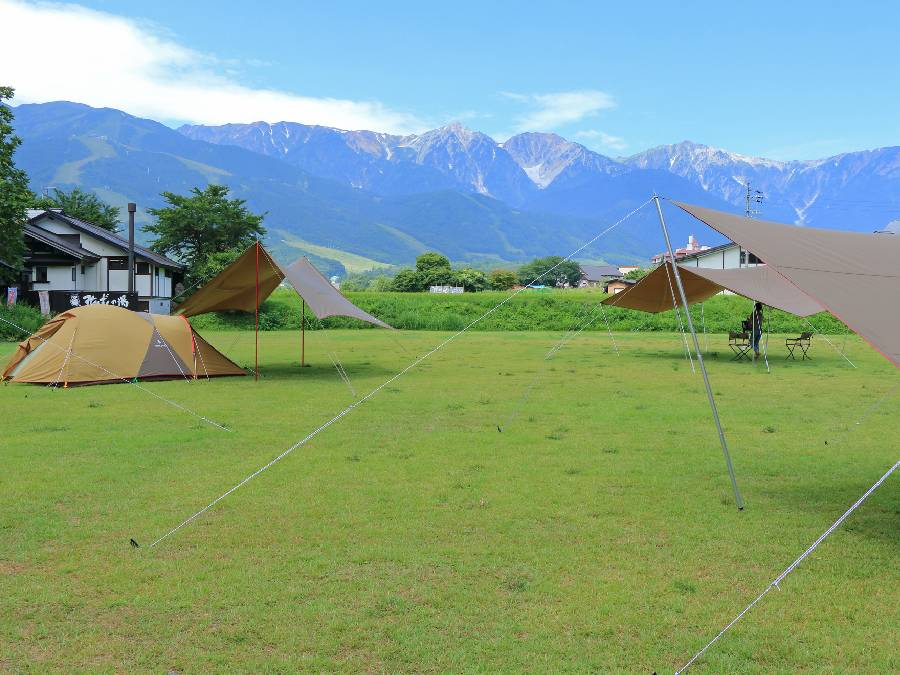暑さ対策をして快適な夏キャンプを楽しみましょう