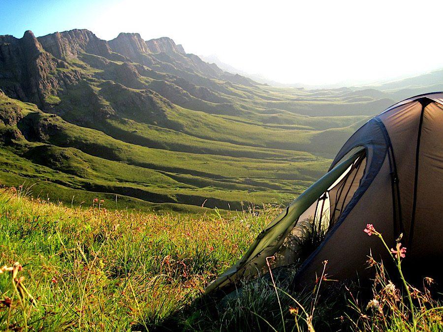 涼しく過ごそう!夏キャンプの暑さ対策,キャンプ場は標高の高い場所を選ぶ