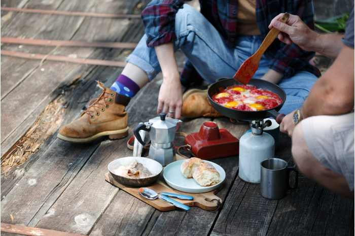 Camping recommended breakfast recipe summary