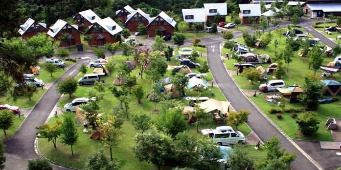 大子広域公園オートキャンプ場グリンヴィラ(茨城)