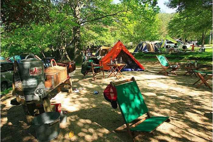 自然の森ファミリーオートキャンプ場(大阪)