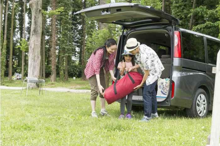 オートサイトありのキャンプ場なら安心感も強い
