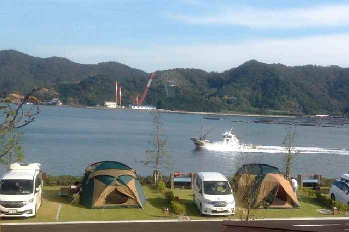 休暇村南淡路シーサイドオートキャンプ場(兵庫)