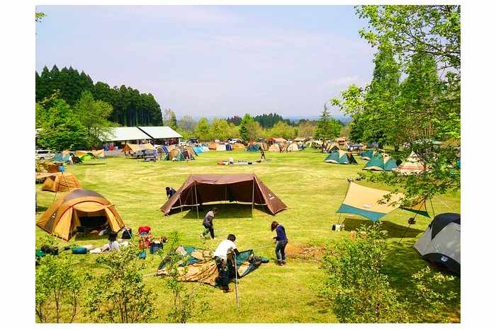 服掛松キャンプ場(熊本)